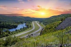 Trans-Canada Highway Royalty Free Stock Photos