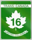 Trans-Canada Highway 16 Stock Photos