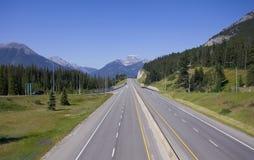 Trans Canada highway stock photos