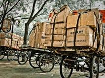 Trans. carts Kina Royaltyfria Bilder