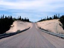 Trans de Weg van Labrador stock afbeelding