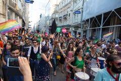 5 Trans duma Marzec w Istanbuł Fotografia Stock