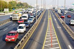 Trans-European Motorway Royalty Free Stock Image