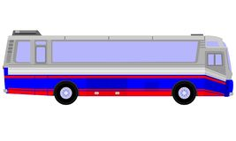 Trans. för buss för ‹för †för stads royaltyfria bilder