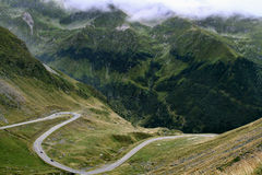 Trans-Fagarasan Road 2 Royalty Free Stock Image