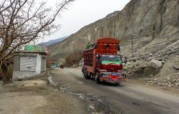 Trans. i Pakistan royaltyfri foto