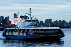 Trans Link Sea Bus, Vancouver, BC. Royalty Free Stock Images
