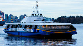 Trans Link Sea Bus, Vancouver, BC. Stock Photo