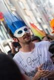 5 Trans. Pride March i Istanbul Royaltyfri Fotografi
