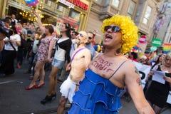 5 Trans. Pride March i Istanbul Arkivfoton