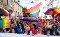 5 Trans Pride March in Istanboel Royalty-vrije Stock Afbeeldingen