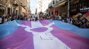5. Trans Pride March in Istanbul Stock Images