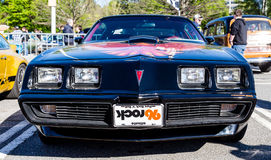 Trans Am with 96 Rock Tag Royalty Free Stock Photo