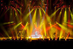 Trans-Siberian Orchestra. SACRAMENTO, CA - November 19: The Trans-Siberian Orchestra performs at Power Balance Pavilion in Sacramento, California on November Stock Image