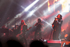 Trans Siberian Orchestra in concert Stock Photography