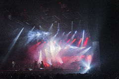 Trans Siberian Orchestra in concert Royalty Free Stock Photo