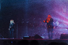 Trans Siberian Orchestra in concert Stock Photo