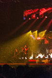 Trans Siberian Orchestra in concert Royalty Free Stock Image