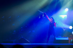 Trans Siberian Orchestra in concert Royalty Free Stock Photography
