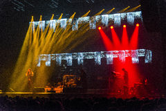 Trans Siberian Orchestra in concert Royalty Free Stock Photos