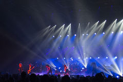Trans Siberian Orchestra in concert Royalty Free Stock Images