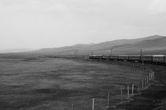 Trans-Siberian railway - Mongolia Stock Photography