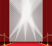 Trans spot on carpet Stock Image