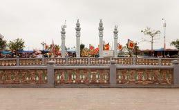 Trans tempel Royaltyfri Fotografi