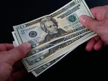Transação de negócio Imagem de Stock Royalty Free
