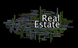 Transacción de las propiedades inmobiliarias ilustración del vector