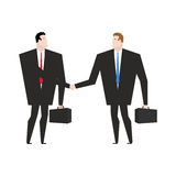 Transaction business. Managers shaking hands. Handshake office w Royalty Free Stock Image