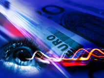 Transaction financière Photographie stock libre de droits