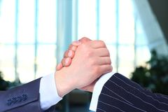 The transaction Handshake. Stock Images