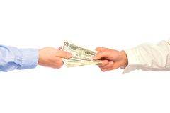 Transaction took place royalty free stock photo