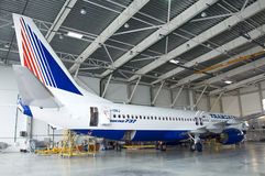 Transaero Boeing Photographie stock