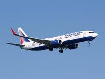 transaero Boeing Στοκ εικόνες με δικαίωμα ελεύθερης χρήσης