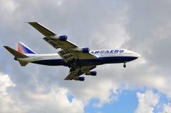 Transaero Boeing 747 stock foto's