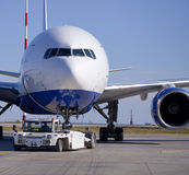 Transaero Boeing 777-200 Image stock