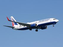 Transaero Boeing Royalty Free Stock Images