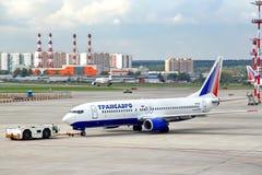 Transaero Boeing 737 Stock Images