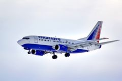 Transaero Boeing 737 Stock Photos