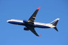 Transaero flygbolag Arkivfoto