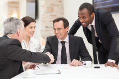Transakcja biznesowa Fotografia Stock