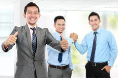 Transakcja biznesowa Praca zespołowa obrazy stock