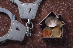 Transakcje finansowe w rynku nieruchomości fotografia royalty free