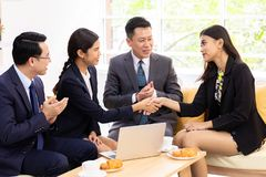 Transakcji biznesowych połączenia obrazy stock