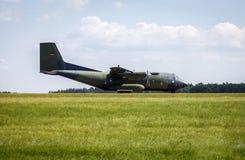 Transall C-160运输机 免版税图库摄影