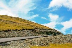 Transalpina风景 免版税库存图片