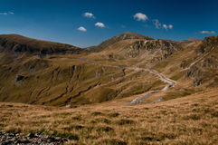Transalpina Foto de Stock Royalty Free