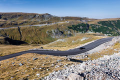 Transalpina the highest altitude road Royalty Free Stock Photos